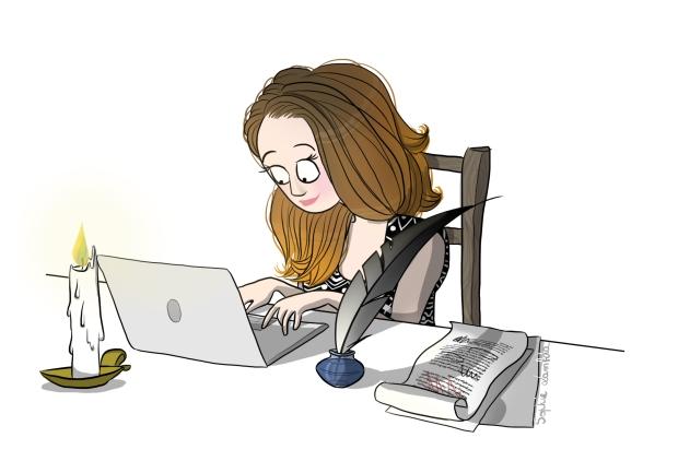 """Résultat de recherche d'images pour """"la blogueuse dessin"""""""